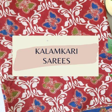 Kalamkari Sarees : Picture