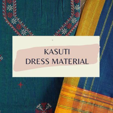 Kasuti Dress Material : Picture