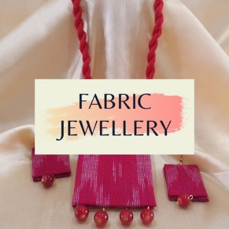 Fabric Jewellery : Picture